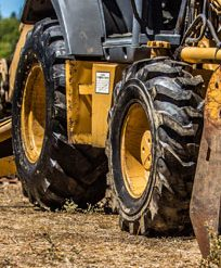 Backhoe Tires