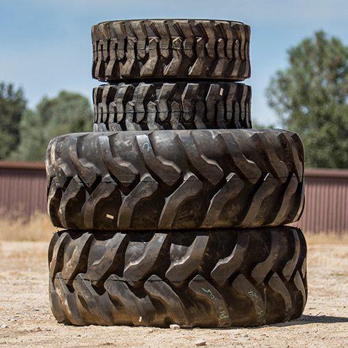 JCB 3CX Backhoe Tires