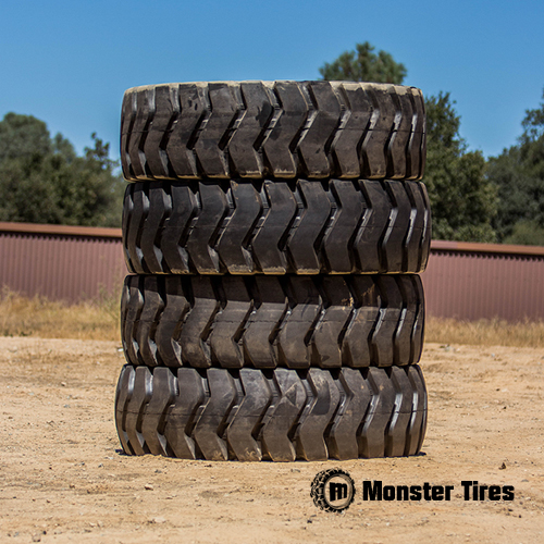 Caterpillar Wheel Loader Tires - Full Set
