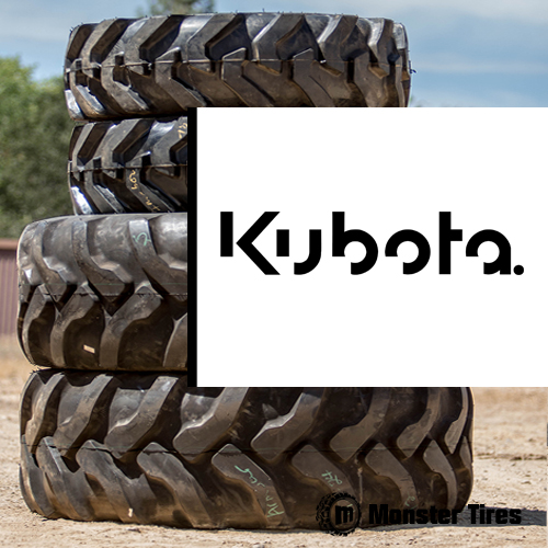 KUBOTA Skip Loader Tires