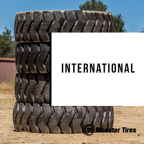 International Motor Scraper Tires