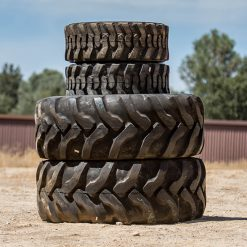 John Deere Backhoe Tires - Front and Rear Set