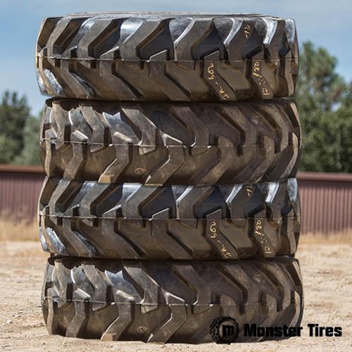 KUBOTA Backhoe Tires - Front Rear Set