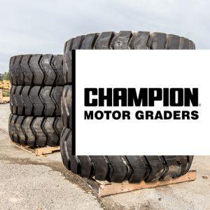 Champion Motor Grader Tires