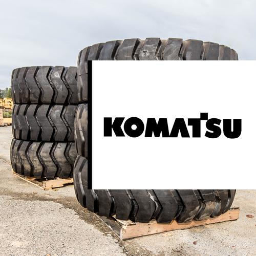 Komatsu Motor Grader Tires