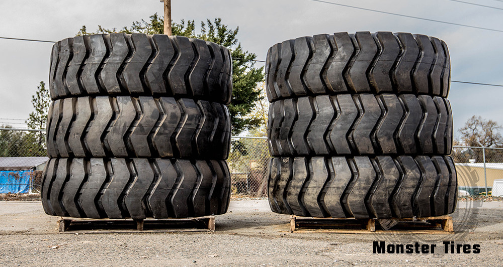Motor Grader Tires Full Set of 6