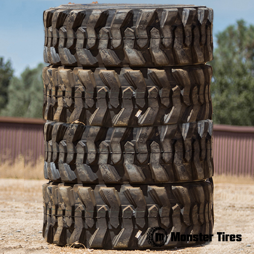 Skid Steer Tires - Full Set