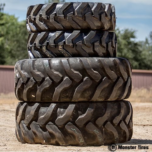 TEREX 650 Skip Loader Tires