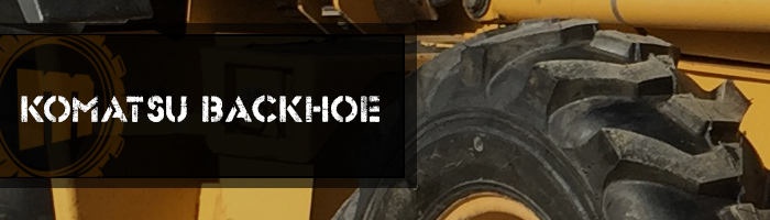 Komatsu Backhoe Tires