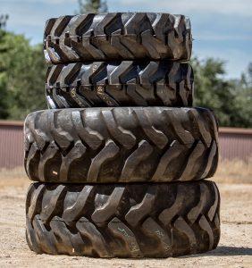 JCB 3CX Backhoe Tires Front and Rear Set