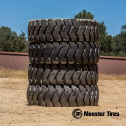 John Deere Wheel Loader Tires - Full Set