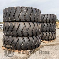 Motor Grader Tires Full Set of 6 (Six Tires)