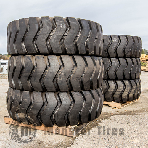 Motor Grader Tires Full Set of 6 (Six Tires)