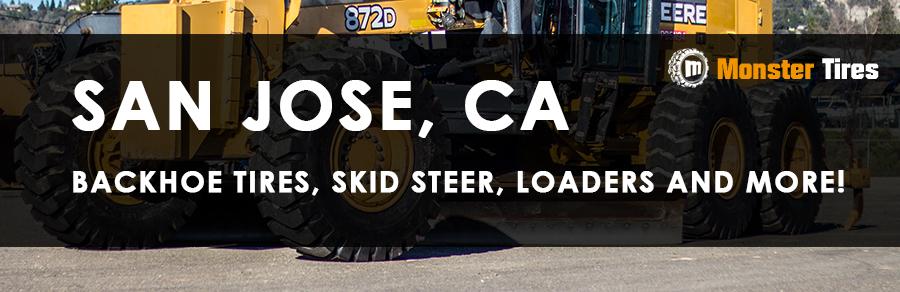 Backhoe Tires San Jose