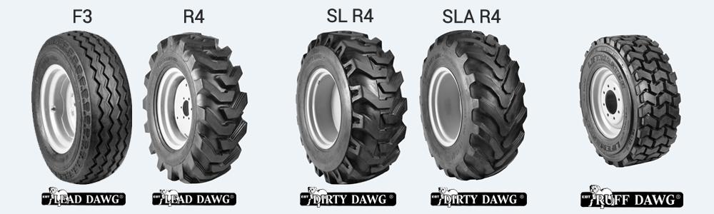 dawg pound backhoe tires