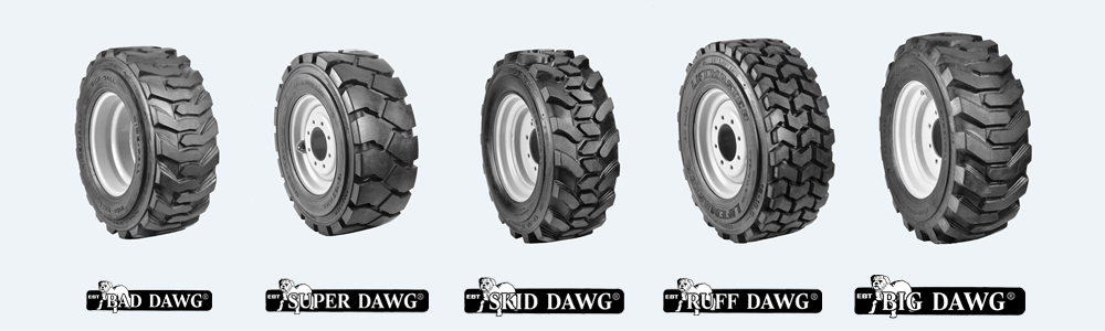 dawg pound skid steer tires
