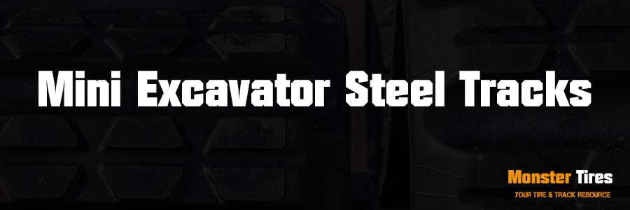Mini Excavator Steel Tracks