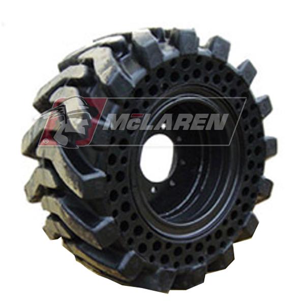 Mclaren Air Monster Solid Skid Steer Tires Mclaren Solid Skid Steer Tires