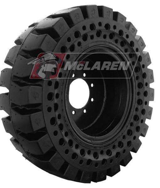 Mclaren Nu Air 174 All Terrain At Solid Skid Steer Tires