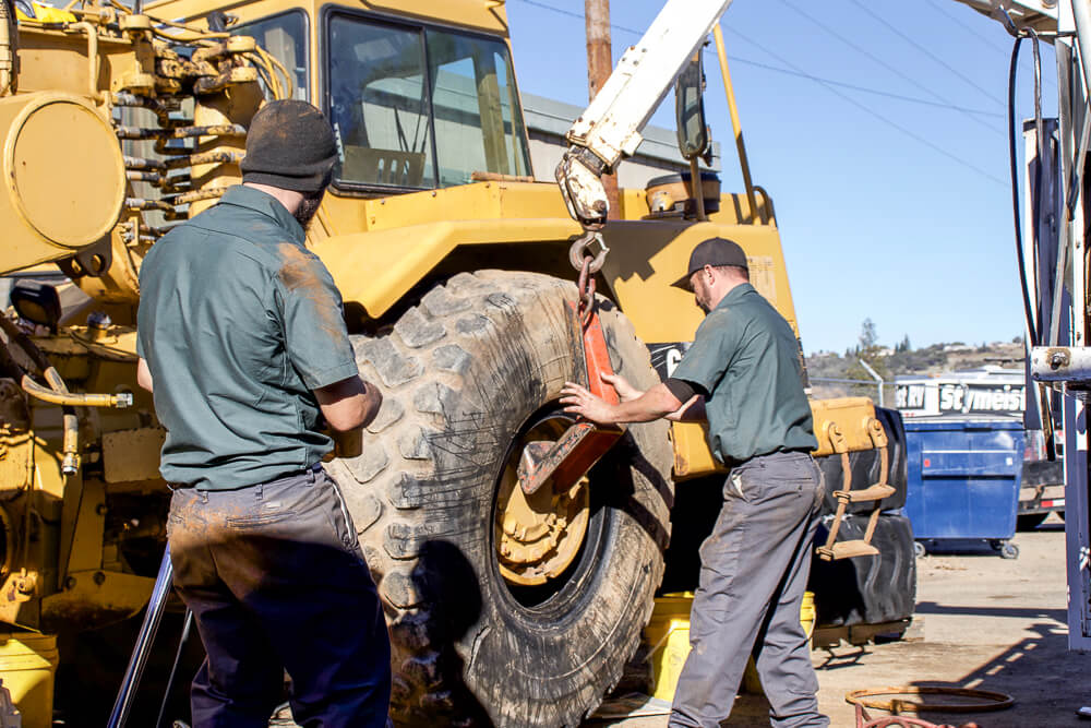 industrial tire installation placerville california