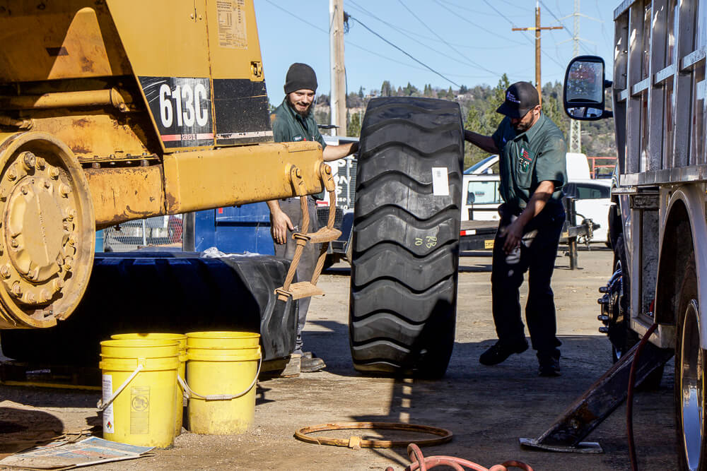 placerville california industrial tire installation