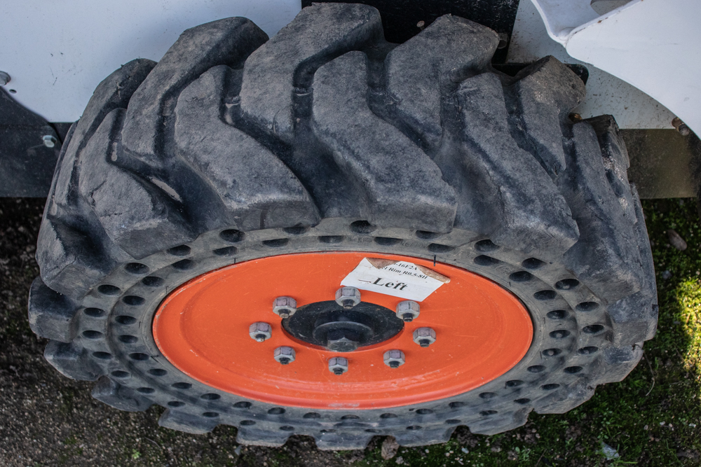Best Skid Steer Tire Option for Waste Transfer Stations