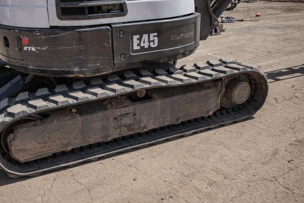 Installing Mini Excavator Tracks
