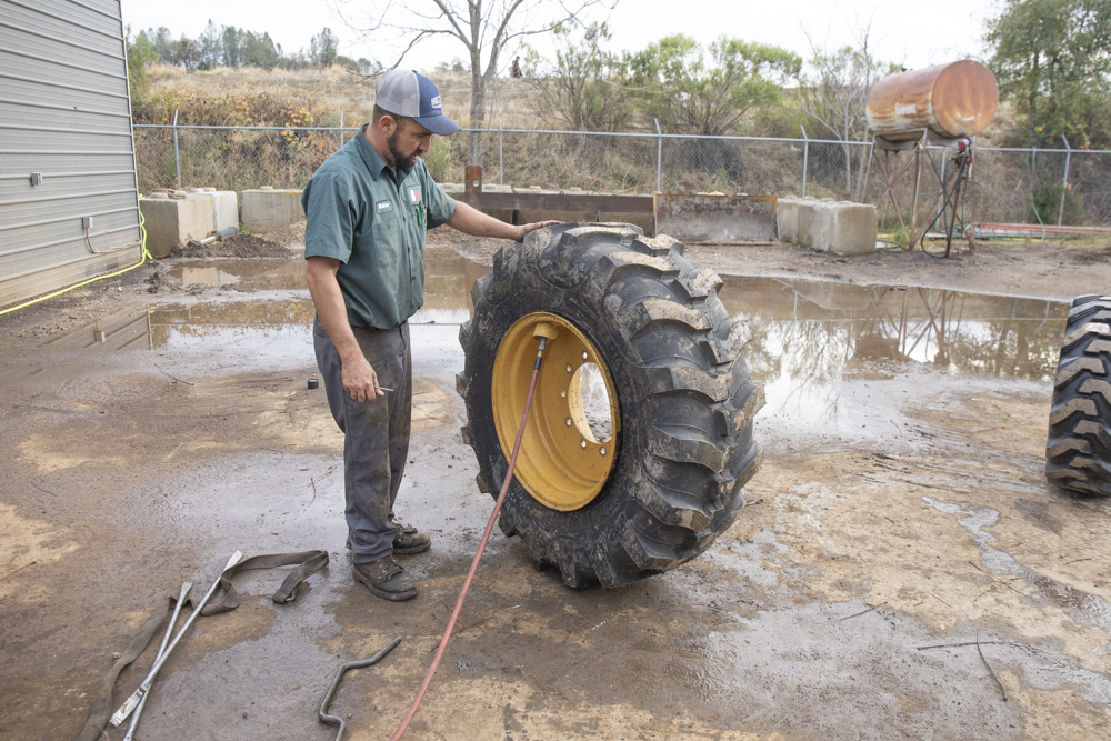 Backhoe Tire Installation & Replacement Guide
