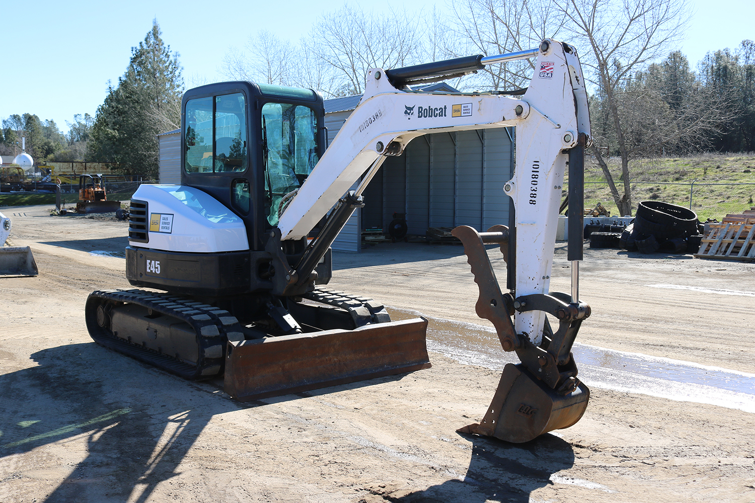 So What's the Difference: Mini Excavator Vs. Skid Steer